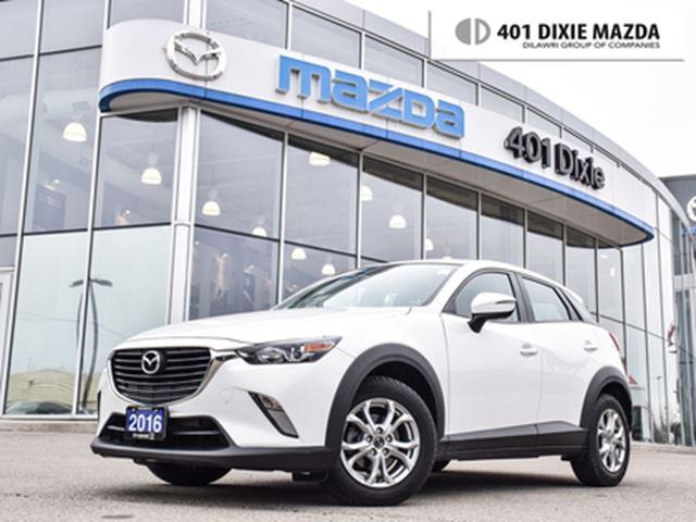 2016 MAZDA CX-3 GS NO ACCIDENT 1.9% FINANCE AVAILABLE ONE OWNER in Mississauga, Ontario