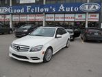 2011 Mercedes-Benz C250 4MATIC, LEATHER SEATS, SUNROOF, HEATED SEATS in North York, Ontario