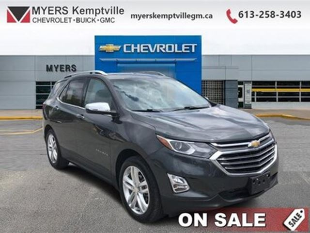 2018 CHEVROLET Equinox Premier - Leather Seats in Kemptville, Ontario