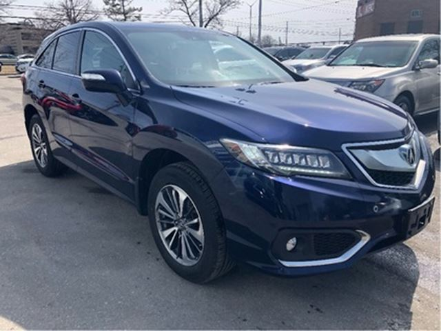 2017 ACURA RDX Elite at Elite pkg, Navi, Accident Free! in Brampton, Ontario