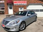 2012 Hyundai Genesis Tech Pkg Nav Sunroof Heated Leather Bluetooth in Bowmanville, Ontario