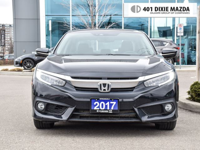 2017 HONDA Civic Touring ONE OWNER NO ACCIDENTS in Mississauga, Ontario