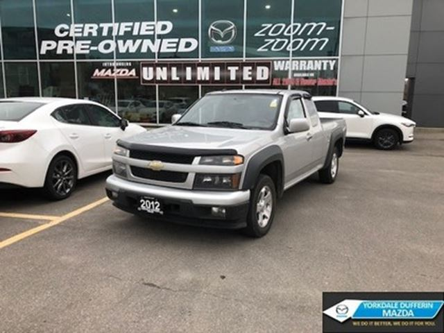 2012 CHEVROLET Colorado LT,AUTOMATIC,EXTENDED CAB,AC,POWER GROUP,BED LINER in Toronto, Ontario