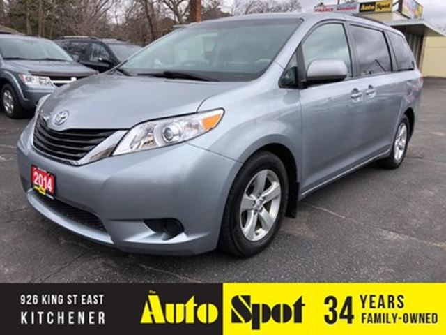 2014 TOYOTA Sienna LE in Kitchener, Ontario