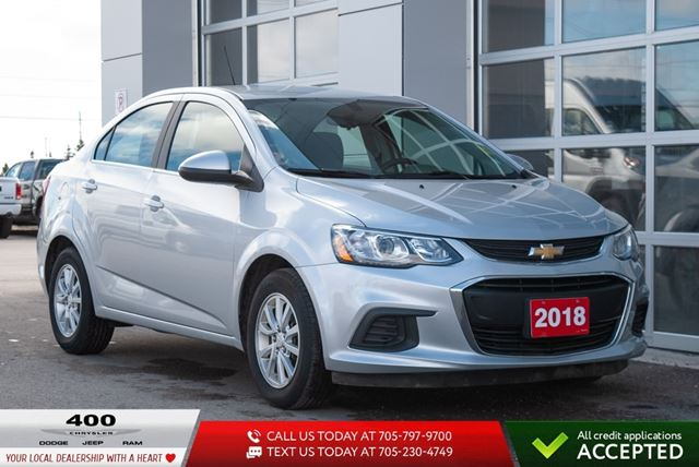 2018 Chevrolet Sonic | LT | HEATED SEATS | in