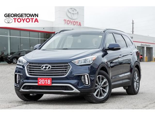 2018 Hyundai Santa Fe NAVIGATION BACKUP CAM LEATHER PANO ROOF CLEAN in