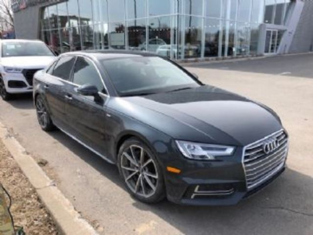 2017 AUDI A4 A4 Technik S-Line + Audi care in Mississauga, Ontario