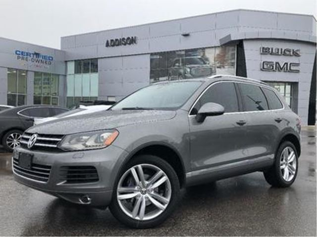 2014 VOLKSWAGEN Touareg 3.0 TDI Highline Accident free in Mississauga, Ontario