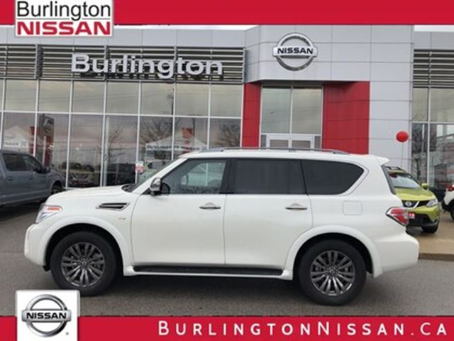 2019 NISSAN Armada Platinum in Burlington, Ontario