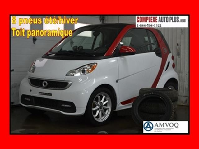 2016 SMART FORTWO ELECTRIC DRIVE Passion *Toit panoramique, Fogs, Mags in Saint-Jerome, Quebec