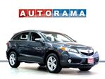 2015 Acura RDX TECH PACKAGE NAVI LEATHER SUNROOF BACKUP CAM AWD in North York, Ontario