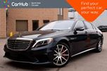 2016 Mercedes-Benz S-Class AMG S 63 Intelligent.Drive.Pkgs Prem.Seat.Pkg  in Thornhill, Ontario