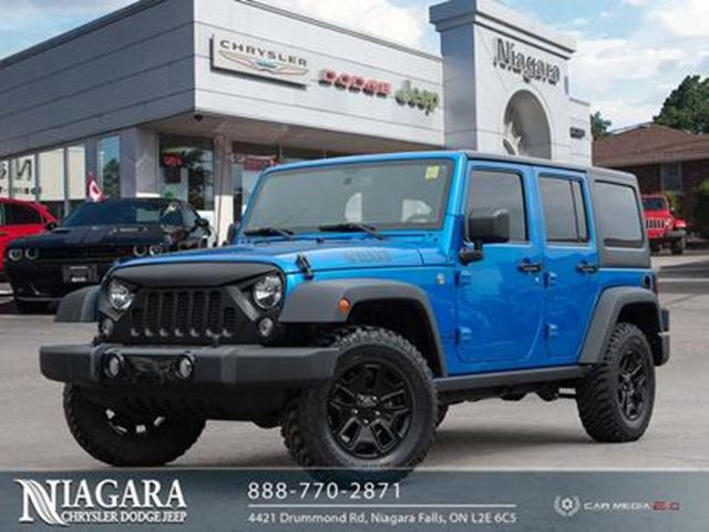 2015 JEEP Wrangler Unlimited WILLY'S EDITION in Niagara Falls, Ontario