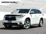 2014 Toyota Highlander Limited Bluetooth, Back Up Camera, Navigation, and More! in Waterloo, Ontario