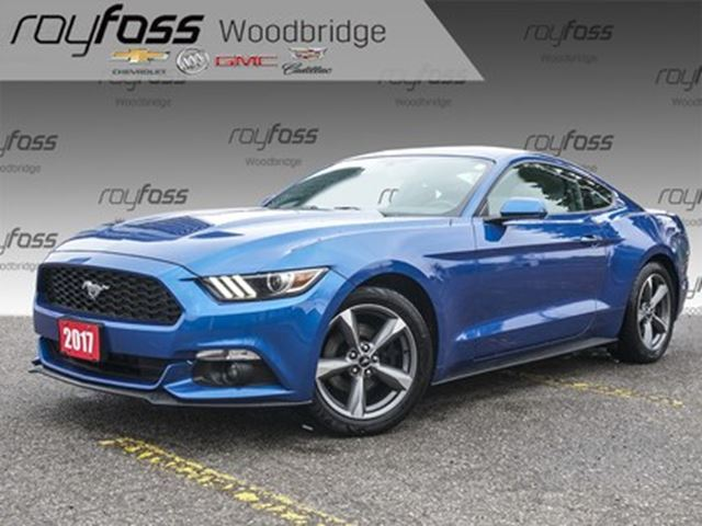 2017 Ford Mustang 18 Alloys, Backup Cam, 6 Speed Manual! in