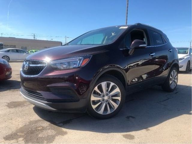 2017 Buick Encore Preferred Cloth & Leather Back UP Camera in