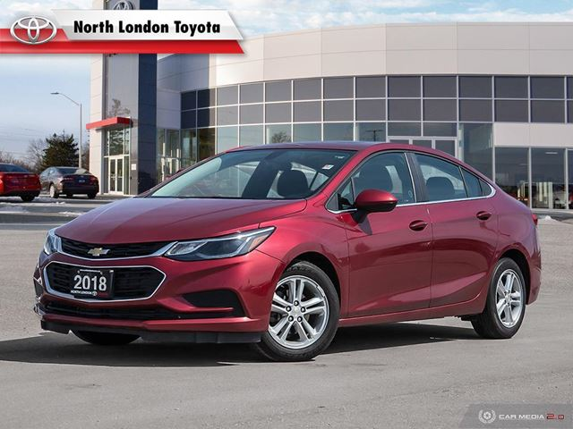 2018 CHEVROLET CRUZE LT Auto Former Daily Rental, No Accidents in London, Ontario