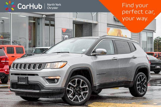 2018 JEEP COMPASS Limited 4x4 Navigation.Pkg Pano_Sunroof Heat.Frnt.Seats Backup_Cam  in Thornhill, Ontario