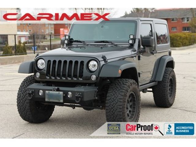 2017 Jeep Wrangler Sport 4x4   ONLY 29K   NO ACCIDENTS   CERTIFIED in