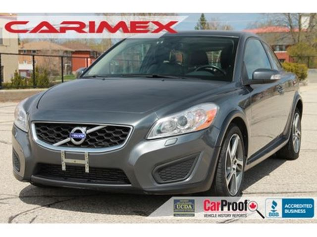 2013 VOLVO C30 T5 Sunroof   Leather   Heated Seats   CERTIFIED in Kitchener, Ontario