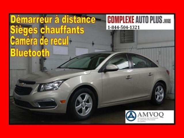 2016 Chevrolet Cruze Limited 2LT 1.4T *Toit ouvrant,Cuir,Mags in