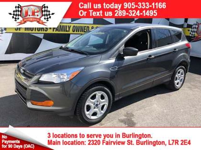 2016 FORD ESCAPE S, Automatic, Heated Seats, Back Up Camera, in Burlington, Ontario