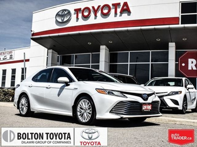 2018 TOYOTA CAMRY Hybrid XLE CVT in Bolton, Ontario
