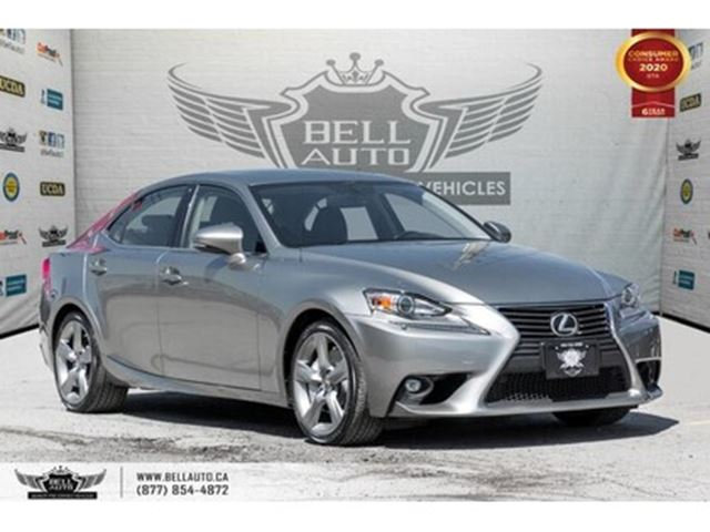 2015 Lexus IS 350 , BACK-UP CAM, HEATED & COOLED SEATS, MOONROOF, BL in