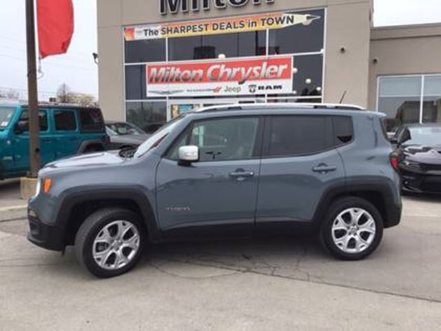 2018 JEEP RENEGADE Limited in Milton, Ontario