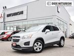 2016 Chevrolet Trax LT   ALLOYS   BACK-UP CAMERA   BLUETOOTH in Mississauga, Ontario