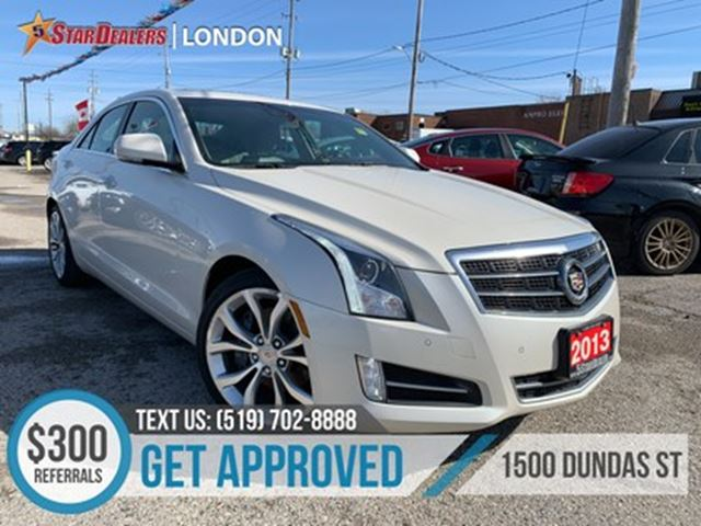2013 CADILLAC ATS 2.0L Turbo Perf  NAV   LEATHER   ROOF   CAM in London, Ontario