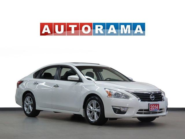 2014 NISSAN ALTIMA SL LEATHER SUNROOF ALLOY WHEELS BACKUP CAM in North York, Ontario