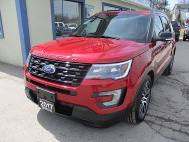 2017 FORD Explorer FOUR-WHEEL DRIVE SPORT EDITION 7 PASSENGER 3.5L in Bradford, Ontario