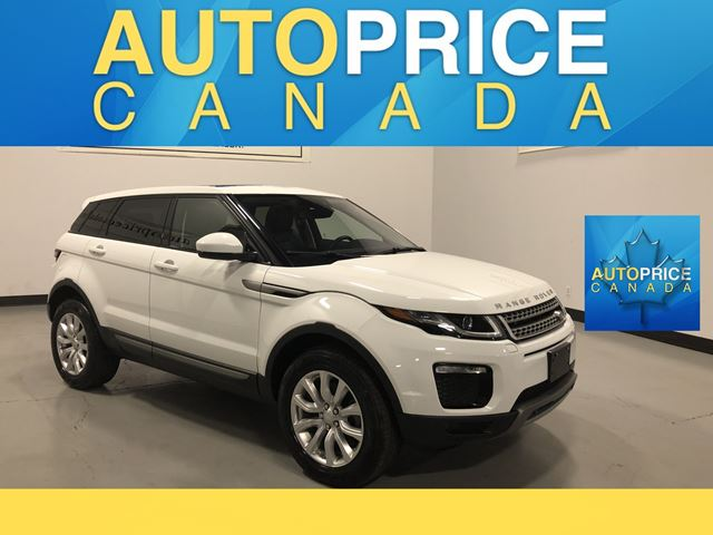 2018 LAND ROVER RANGE ROVER EVOQUE SE NAVIGATION|PANOROOF|LEATHER in Mississauga, Ontario
