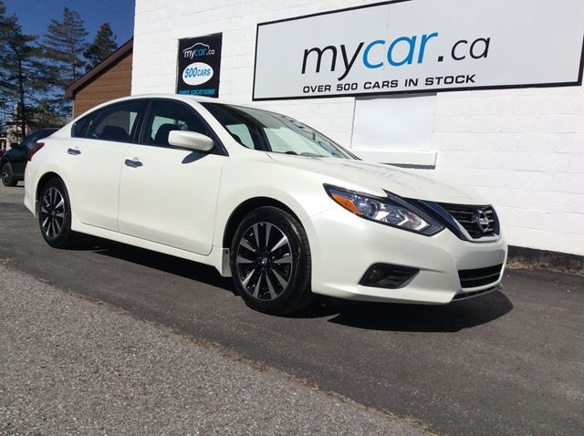 2018 NISSAN ALTIMA 2.5 SV SUNROOF, PWR SEAT, HEATED SEATS, BACKUP CAM! in Kingston, Ontario