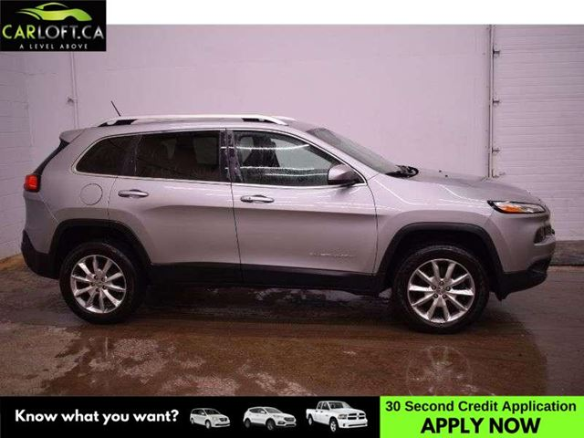 2014 JEEP CHEROKEE LIMITED 4X4 - NAV * BACKUP CAM * LEATHER in Kingston, Ontario