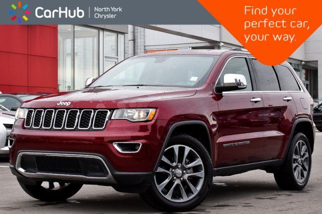 2018 JEEP GRAND CHEROKEE Limited in Thornhill, Ontario