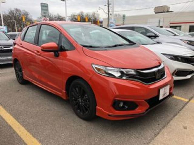 2019 HONDA FIT SPORT W/ LEASE GUARD in Mississauga, Ontario