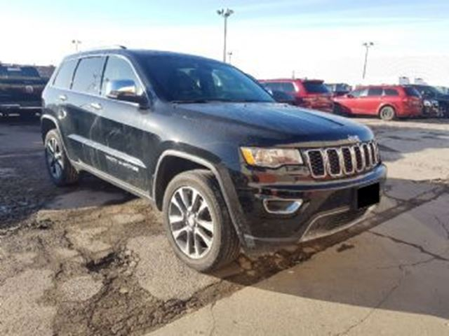 2018 JEEP GRAND CHEROKEE LIMITED in Mississauga, Ontario