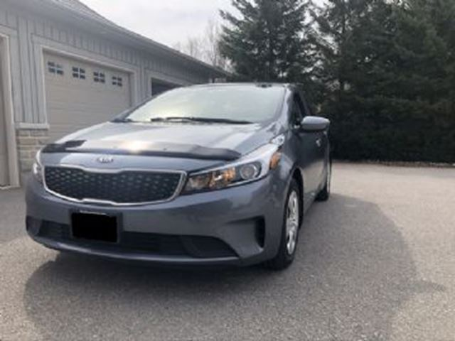2017 KIA Forte Sdn Auto LX w/ APPEARANCE PROTECTION & ULTRA LOW KMS in Mississauga, Ontario