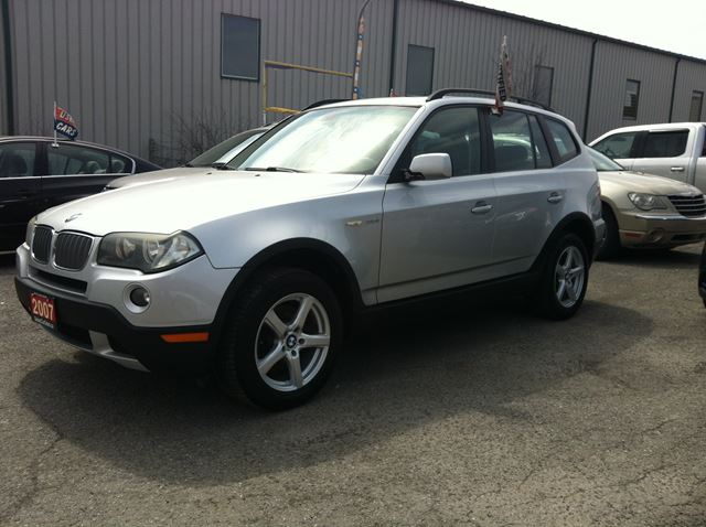 2007 BMW X3 3.0i auto loaded leather roof  in