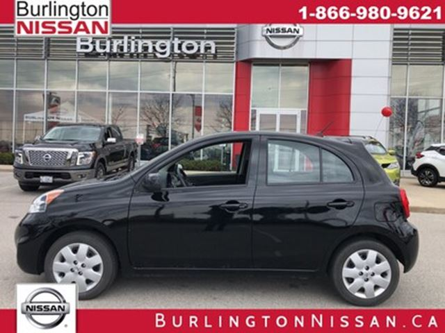 2016 NISSAN Micra SV, 1 OWNER, ACCIDENT FREE ! in Burlington, Ontario