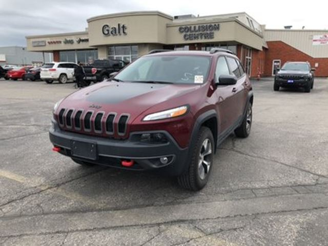 2018 Jeep Cherokee Trailhawk in