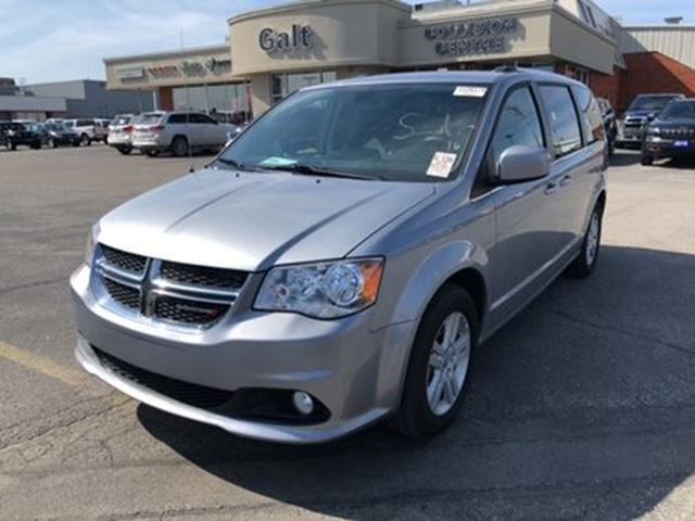 2018 Dodge Grand Caravan CREW   NAV HEATED SEATS UCONNECT in