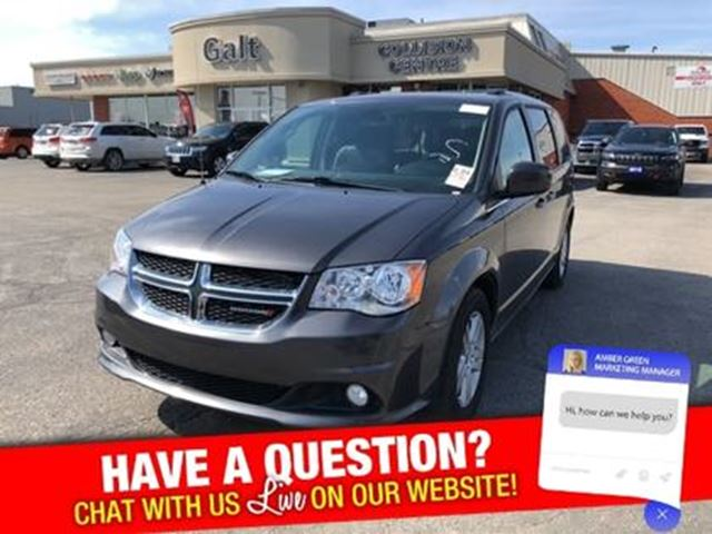 2018 Dodge Grand Caravan CREW   NAV UCONNECT HEATED SEATS in