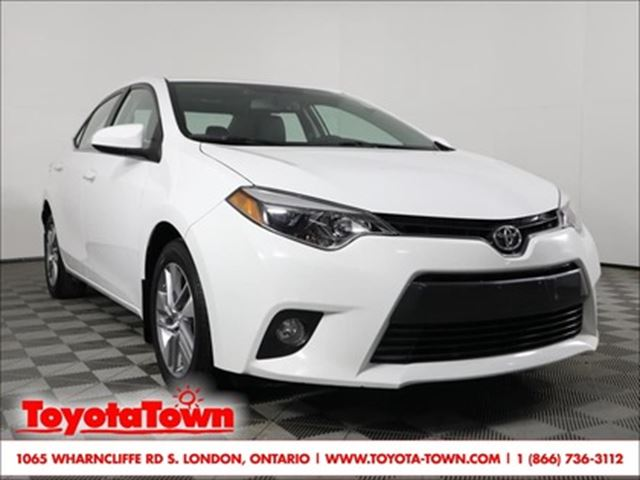 2015 Toyota Corolla LE ECO TECHNOLOGY NAVIGATION in