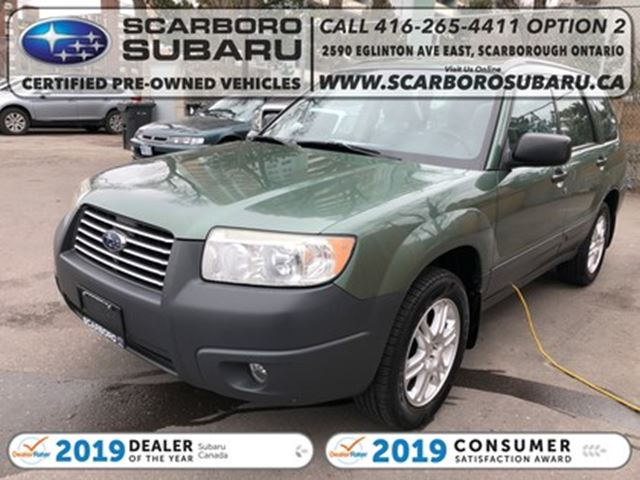 2007 Subaru Forester Columbia Edition, BODY IN GOOD SHAPE !! in