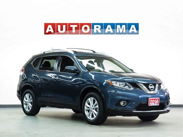 2014 Nissan Rogue SL LEATHER SUNROOF BACKUP CAM AWD in