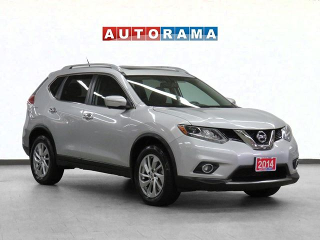 2014 Nissan Rogue SL LEATHER SUNROOF AWD BACKUP CAM in