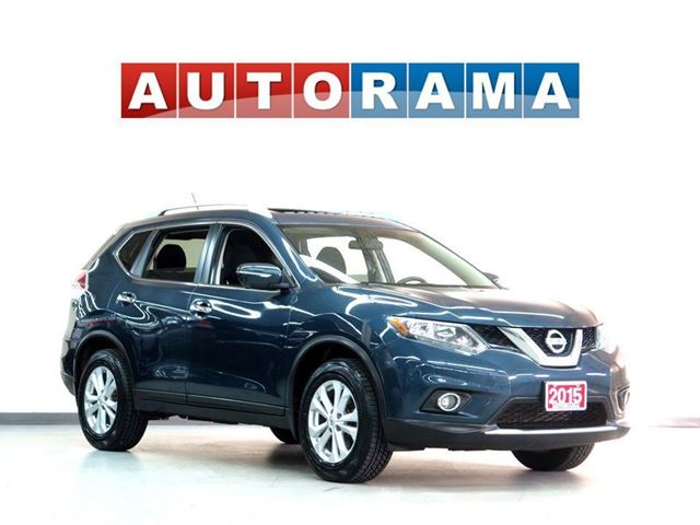 2015 Nissan Rogue NAVIGATION 7 PASSENGER SUNROOF AWD BACKUP CAM in